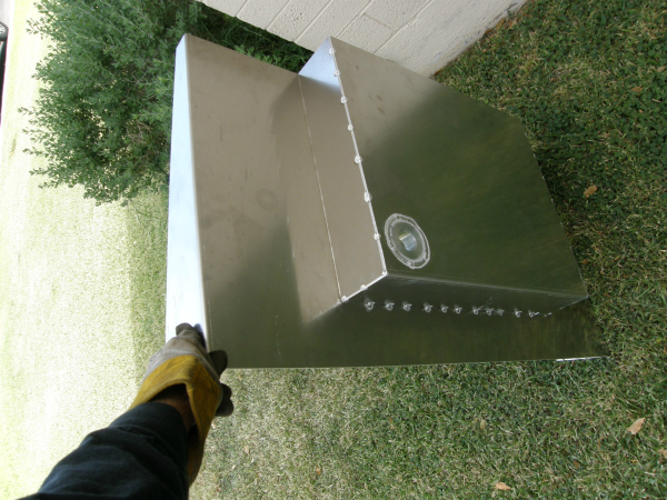 Custom aluminum fuel tank