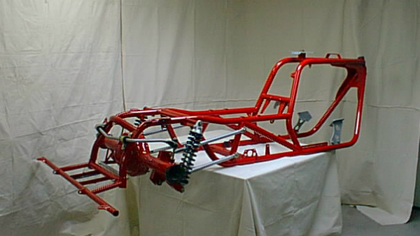 V8 Trike frame, suspension and mounts