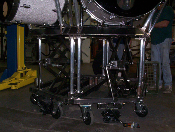 Custom Sizzor Jack quick assemlby drum kit for Megadeth