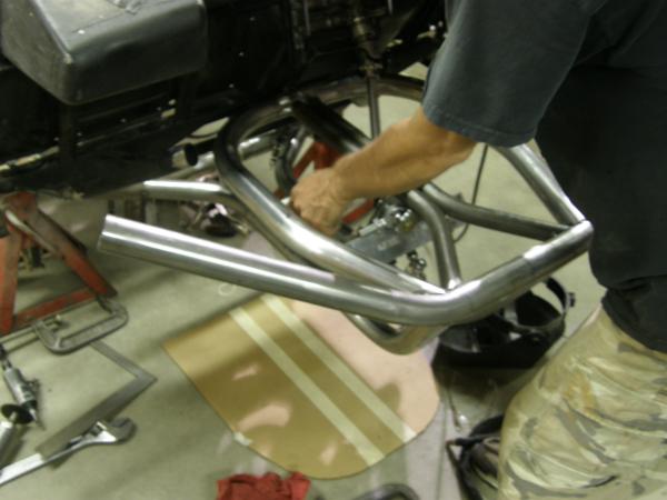 Golf cart front clip
