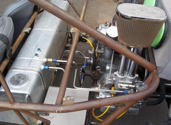 Hilborn VW plumbing details