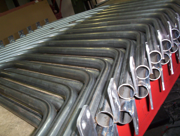 Production tube bending