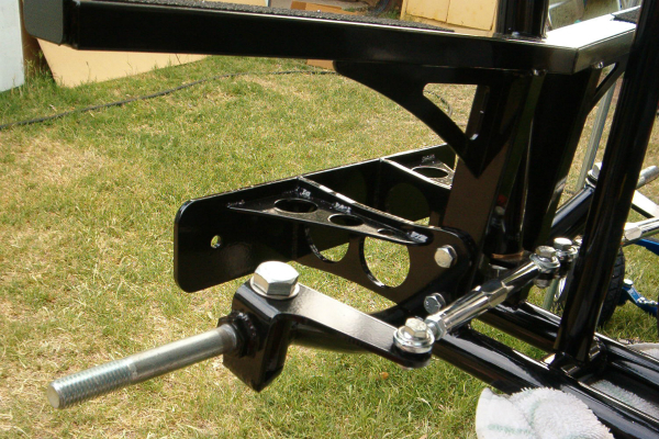 Shifter cart push bumper