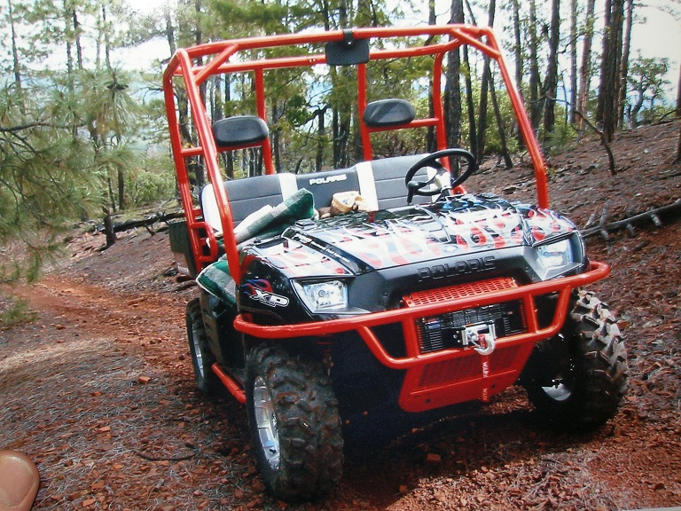 We have ready to deploy roll cages for Polaris Ranger, Arctic Cat and Yamaha Rhino ATV's