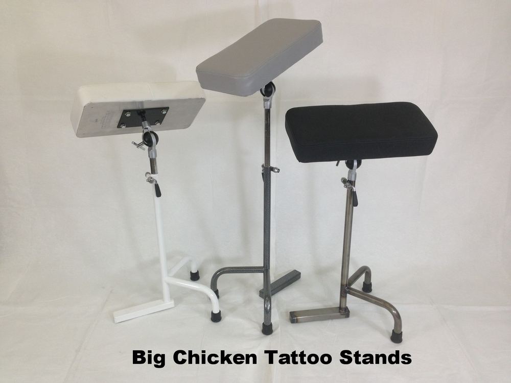 Big Chicken Tattoo Stands