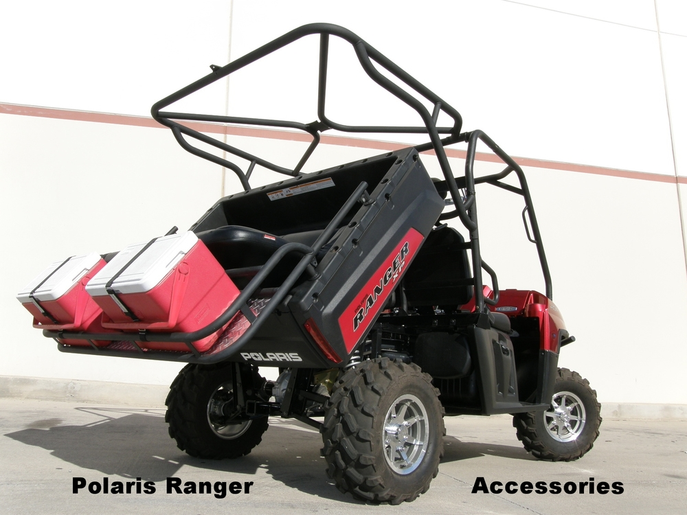 Polaris Ranger Cages, Seats, racks and tops.