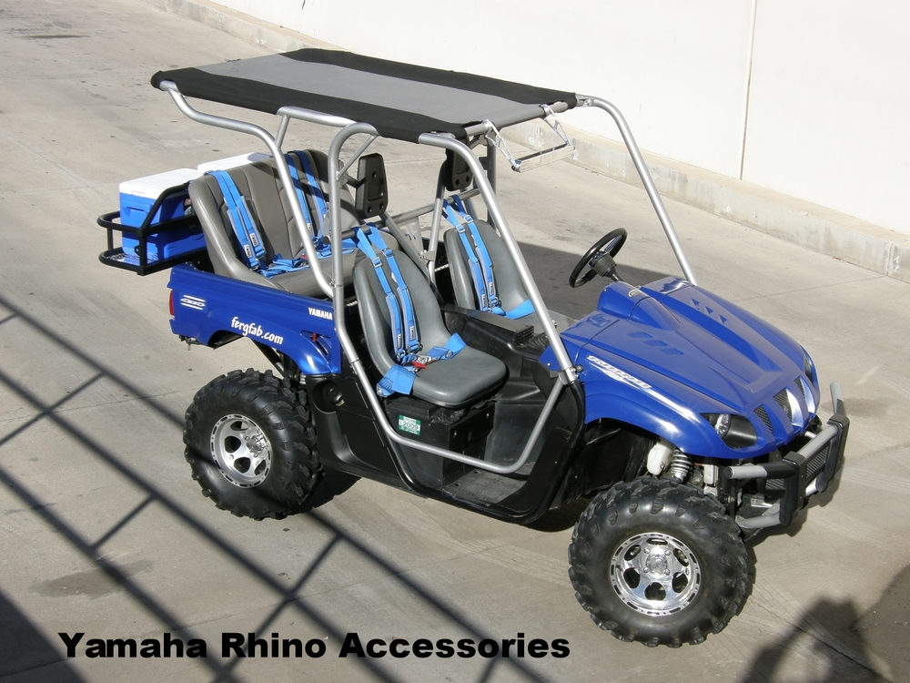 Yamaha Rhino Cages, Seats, and tops.