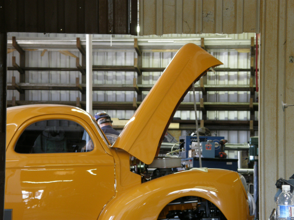 Willys Coupe visits Big Chicken Hot Rods.jpg