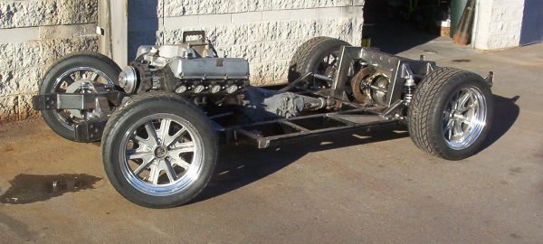 Cobra custom chassis, 460 Ford Engine