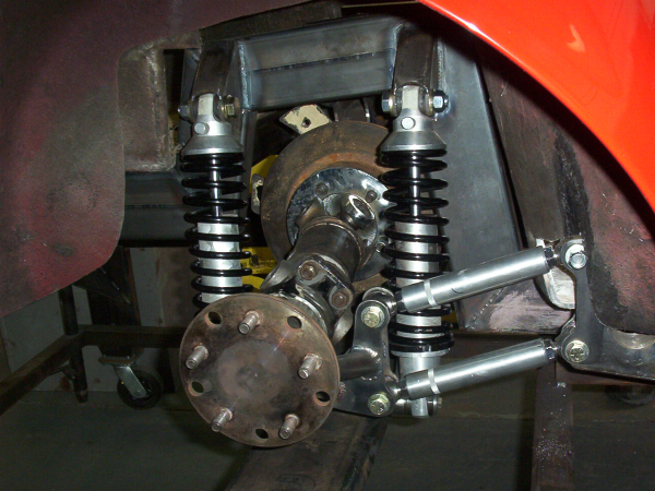 Cobra rear suspension
