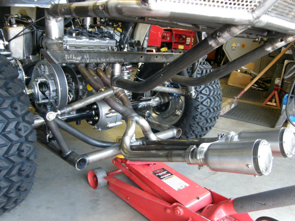 Hot Rod golf cart rear suspension