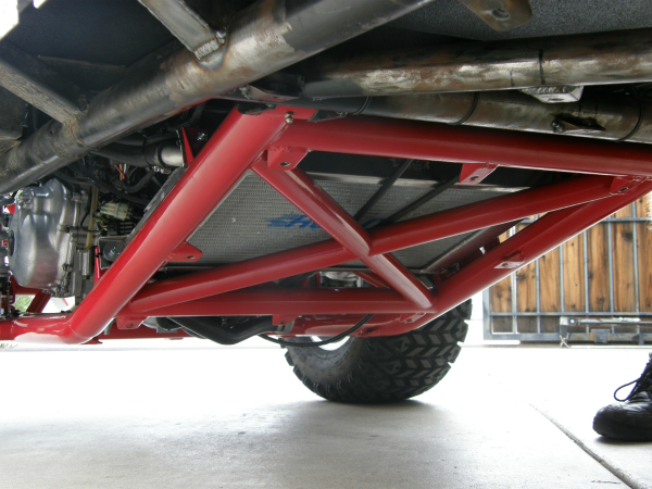 Hot rod golf cart swing arm