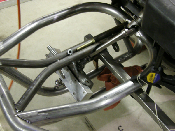 Custom Golf Cart Steering Shaft clearance