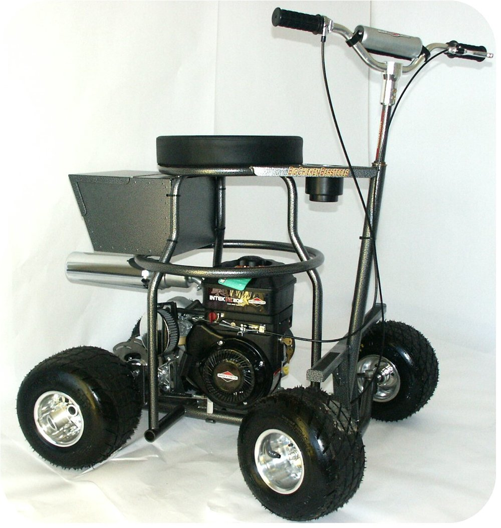 bar stool go kart