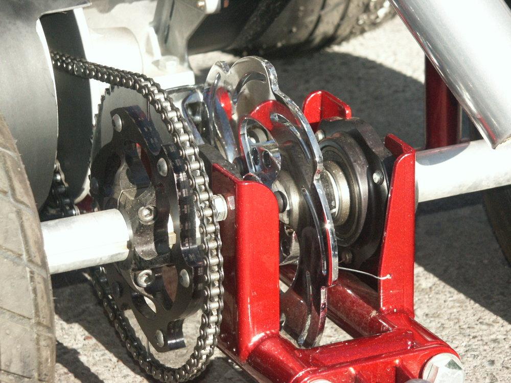 bar stool racer frame