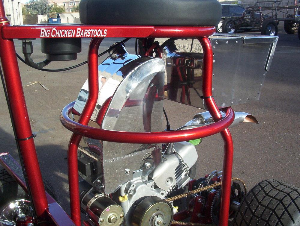 Custom gas tank