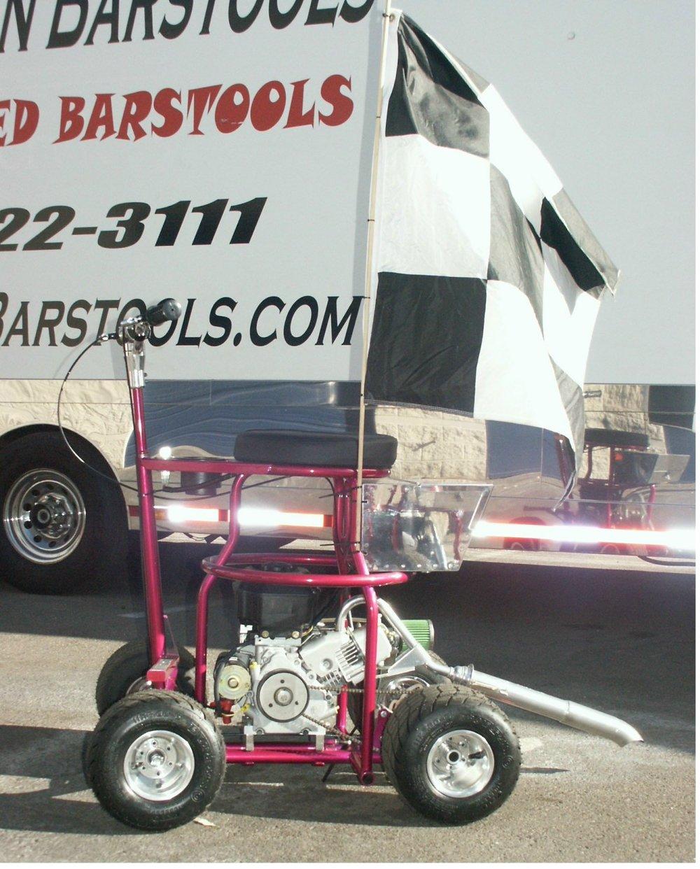 big motor barstool racer