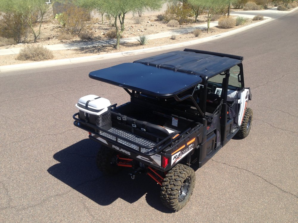 XP900 Ranger Crew accessories|Rear Cage|Cooler Rack|Metal Rood