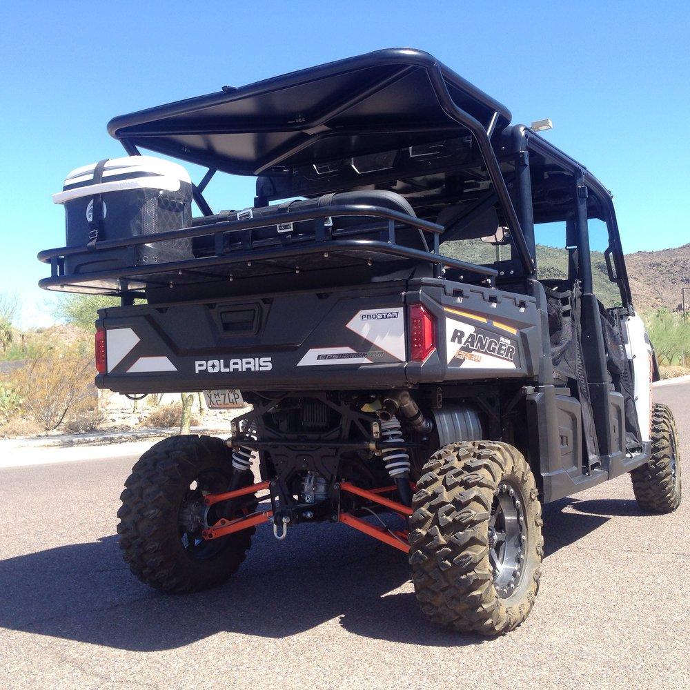 Ranger Crew rear cage | XP900 Ranger Cage