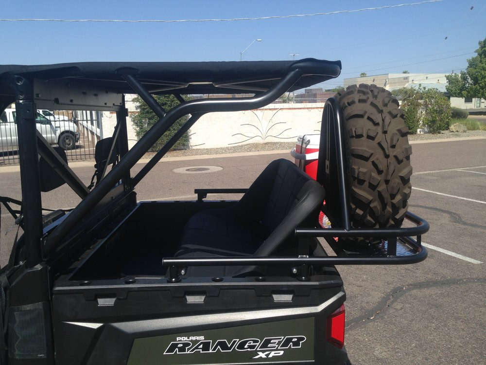 Xp900 Ranger rear seat and cage kit.