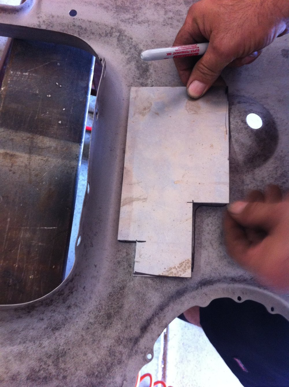 making a sheet metal pattern