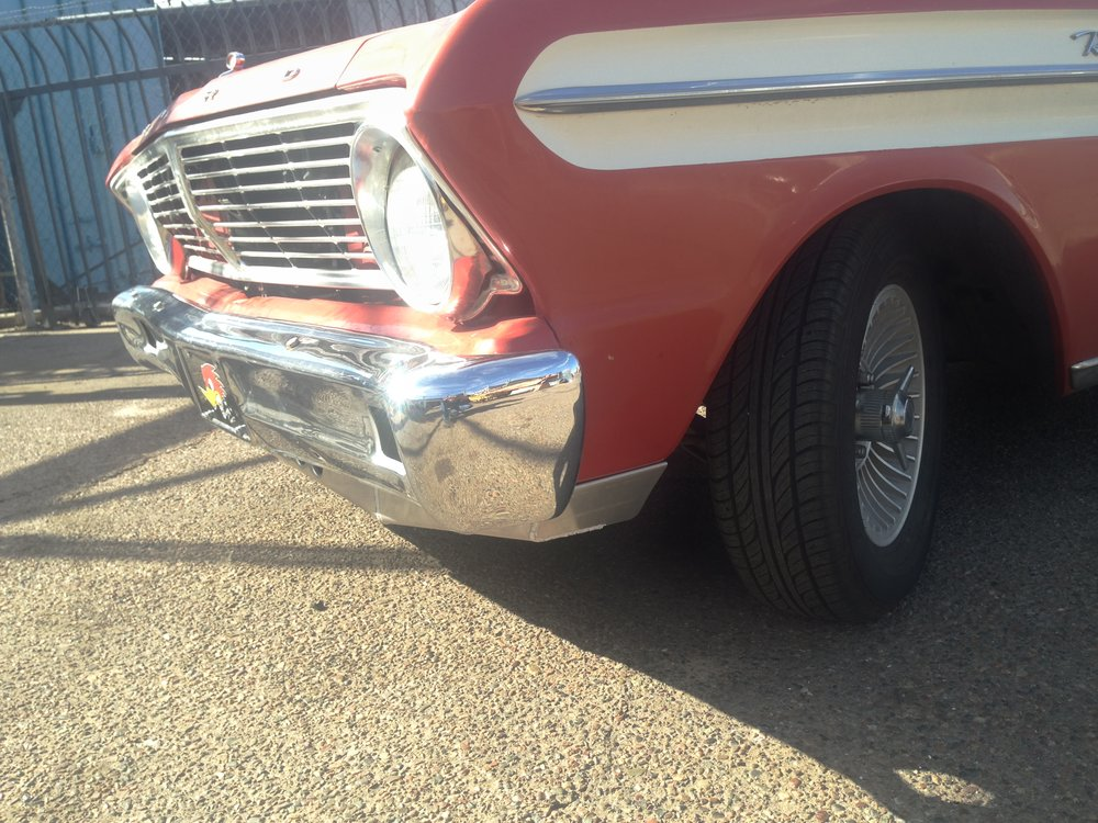 classic ford sheet metal modifications