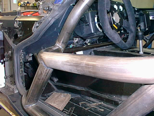Step in door bars on Viper Coupe