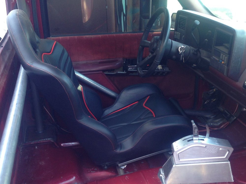Triple X seats for Chevy truck