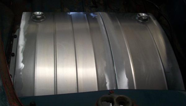 Custom aluminum fuel tanks.
