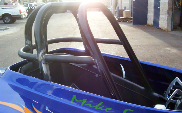 Altered roll cage mods