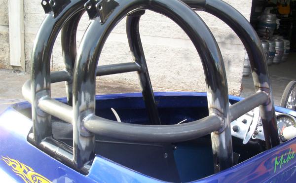 NHRA rollcage details