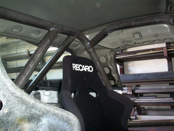 NASA Honda Roll Cage roof detail