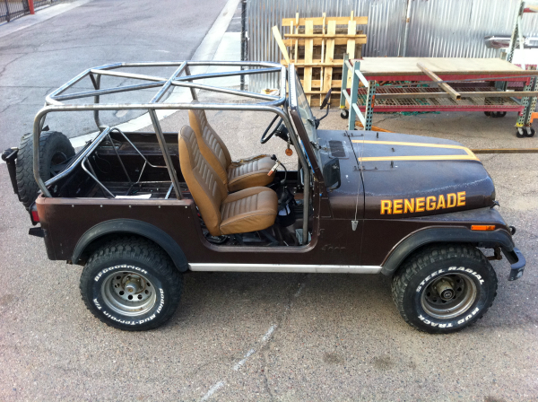Jeep Wrangler Roll Cage