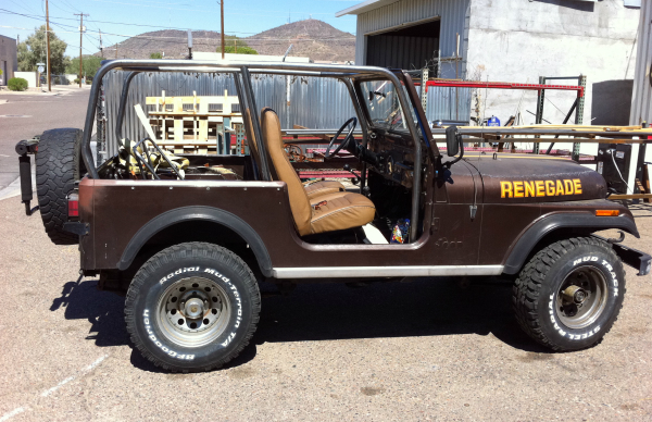 Jeep cage and rear seat
