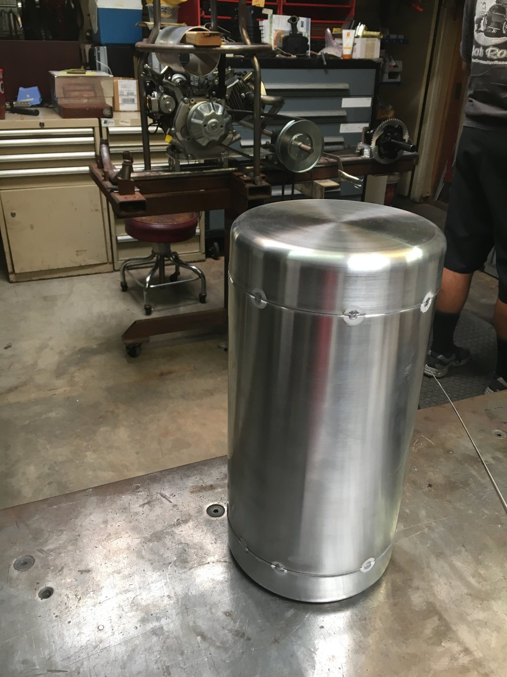 1.5 gallon fuel tank