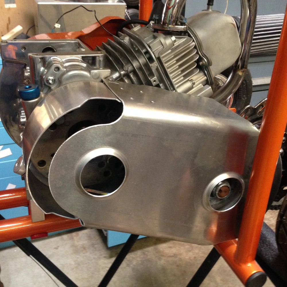 Tav20 torq-a-verter aluminum clutch cover