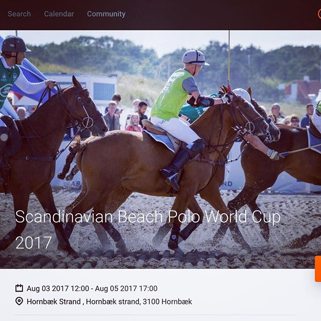 Tickets launched - visit www.scandinavianbeachpolo.com to buy Tickets  #aug2017hornbækbeachpolo #aug2017hornbaekbeachpolo #scandibeachpolo #scandibeachpolo2017
