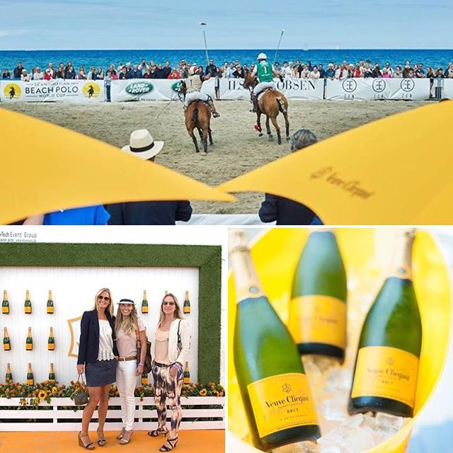 We are proud to announce Veuve Clicquot as our Title sponsor for the 2017 Scandinavian Beach Polo World Cup. The Veuve Clicquot brand is synonymous around the world for its glamorous showcases of polo through events such as the Veuve Clicquot Polo Classics in New York and Los Angeles.  Veuve Clicquot have been strong supporters of International Polo events in Denmark since the launch event in 2013 at The Copenhagen Polo Open and again at the 2015 Scandinavian Beach Polo World Cup.  We are thrilled about this partnership and look forward to bringing you a fantastic event this year. #ScandiBeachPolo #scandibeachpolo2017 #aug2017hornbækbeachpolo #aug2017hornbaekbeachpolo #beachpolo #poloevent #socialpolo #denmark #sommeridanmark #hornbaek #sommerevent #veuveclicquot #champagne #sponsor #titlesponsor #beachpoloworldcup