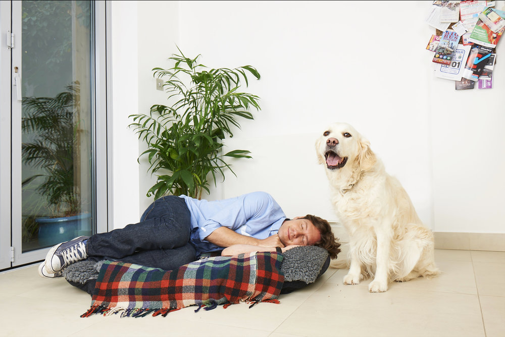 Shoot for ResMed 'Do it in bed' campaign 'Dog Bed'.jpg