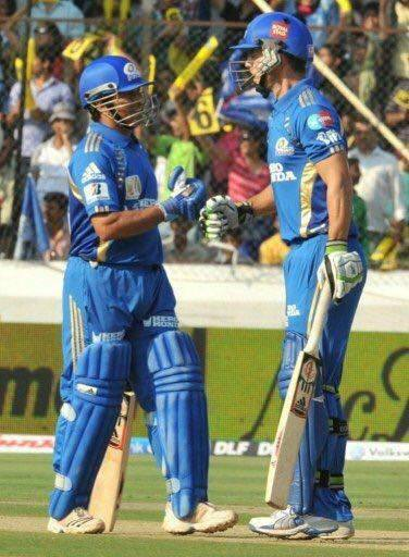 With Sachin in the 2011 IPL