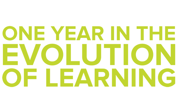 Celebrating One Year In The Evolution of Learning