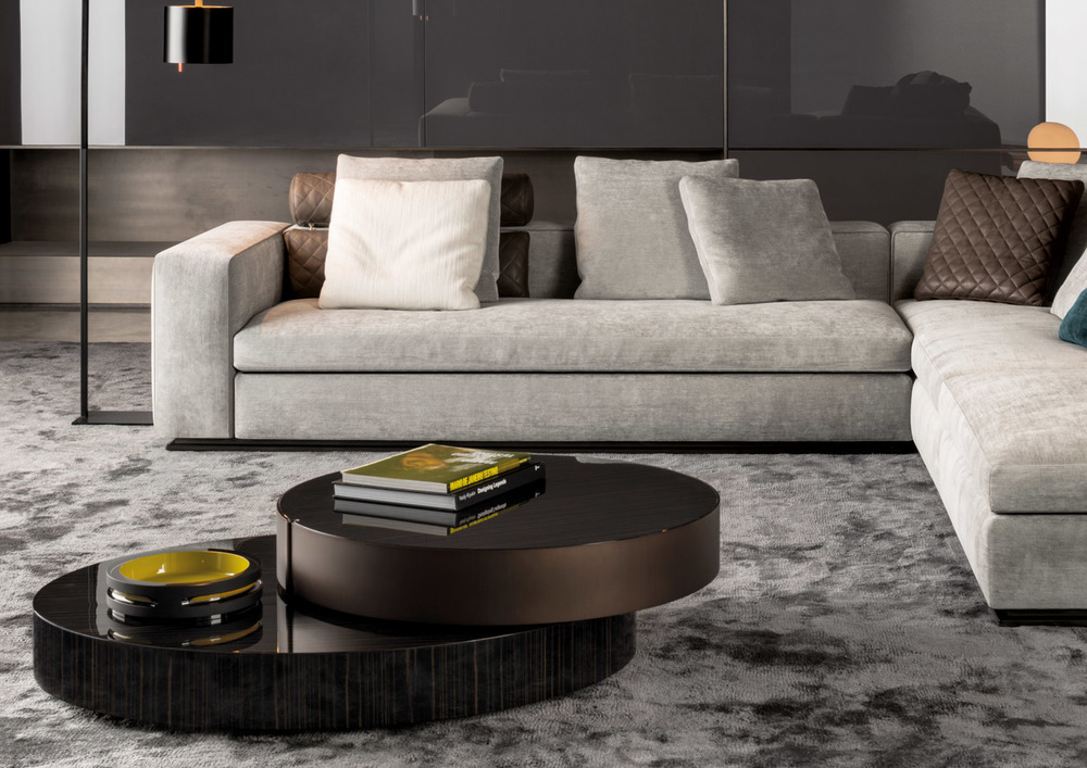 Minotti Benson Coffee Table Awarded With The Wallpaper