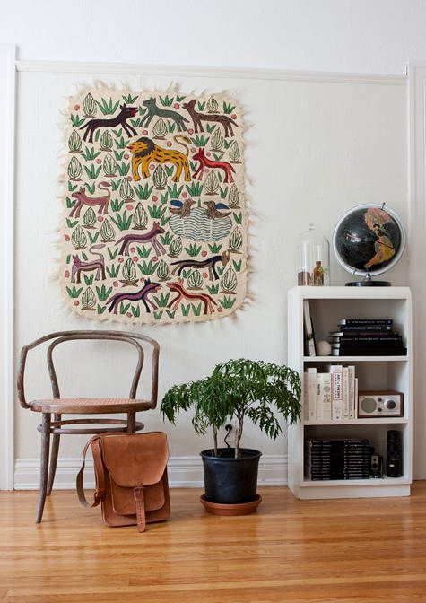 Using Rugs As Wall Hangings Carini Lang Studio Como Modern