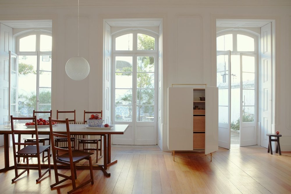 Shaker Dining Table U0026 Chair By Neri U0026 Hu And De La Espada U2014 Studio Como    Modern Furniture And Custom Cabinetry