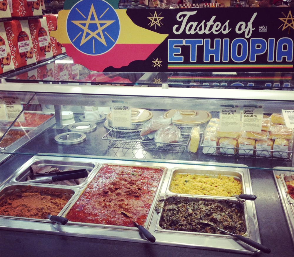 Taste of Ethiopia, Campus, Food Service