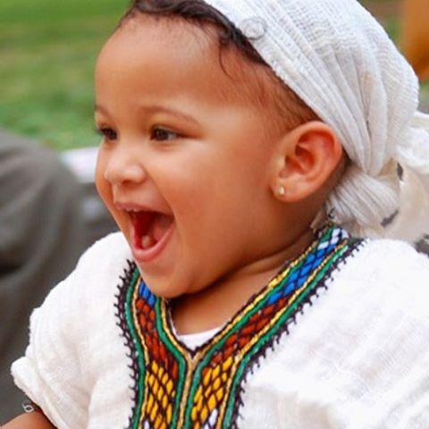 Monday morning muse and mood. #Habesha #ethiopian #baby #mondaymorning #ethiopianbaby #mood