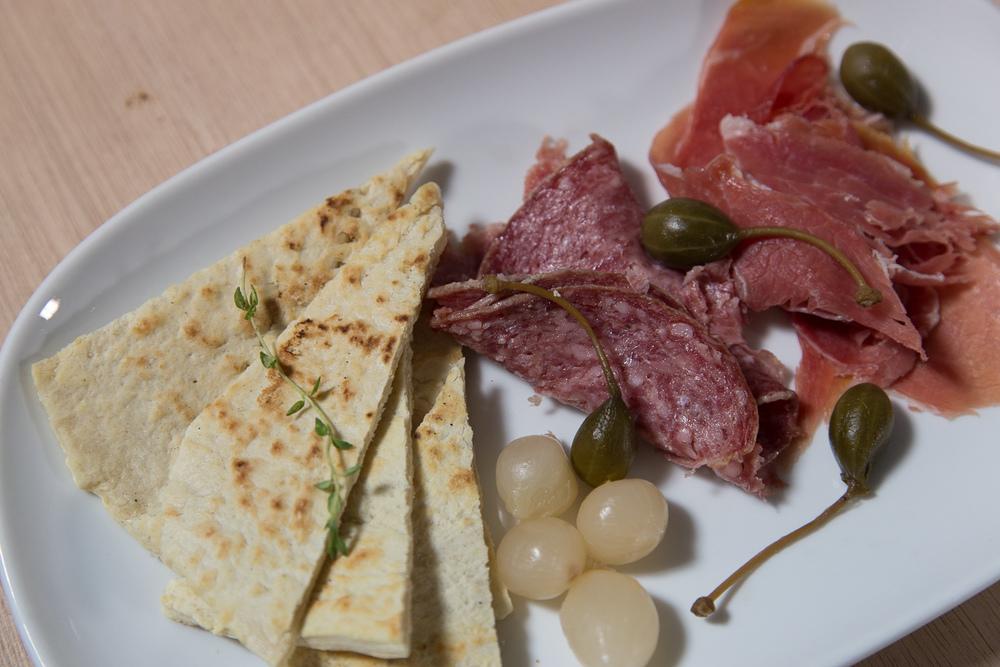 A Savory Piadina plate