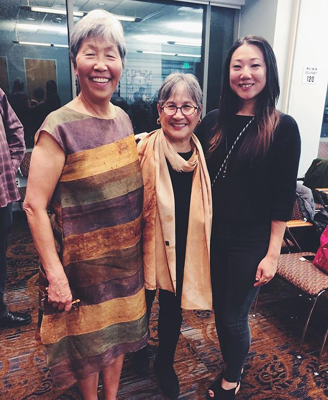 """Feeling inspired by these two beautiful free spirited strong Korean-American women. Our families are connected through generations as some of the first Korean immigrants to America . Celebrating Brenda (center) who wrote the book, """"Stone House on Jeju Island"""", a reflection of her experience leaving California to build a home and life as a 'foreigner' in the land of her ancestral roots .  Loving her mantra as she has embarked on numerous journeys, 'Be open to what comes to me, especially that what I don't expect' 🙏🏼✨ . . . #koreanamerican #asianamerican #jejuisland #warriorwomen #사랑  #facialrejuvenation #acupuncture #naturalbeauty #holistic #transformation #organic #beauty #soundhealing #easternmedicine  #preventative #mindbodysoul #yoga #spirituality #love #healing #sanfrancisco #sf #bayarea #castro #oakland"""