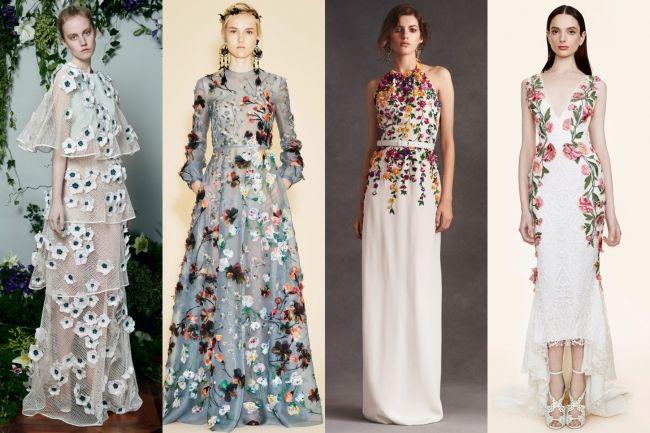 Photo:  Vogue  Vionnet, Valentino, Oscar de la Renta and Marchesa