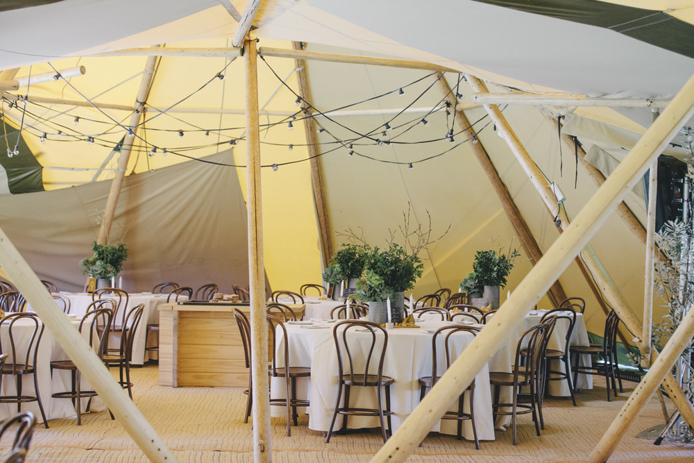 corporate event styling nu pure sunshine coast tipi
